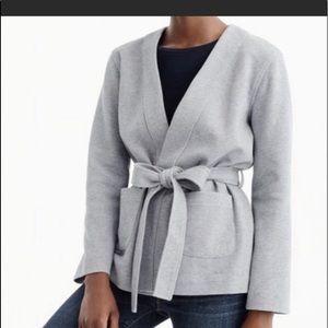 NWT J.Crew Belted Cardigan softbrushed Cotton XS